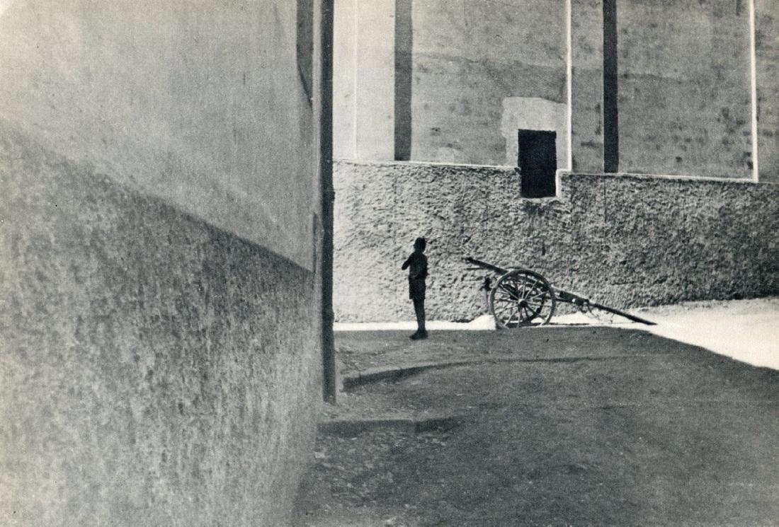 HENRI CARTIER-BRESSON - Salerno, Italy, 1933
