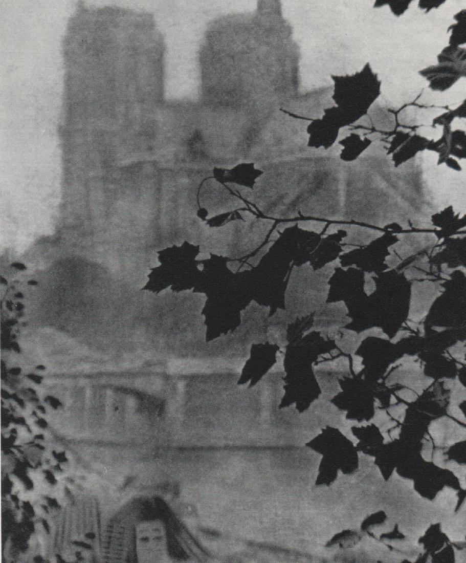 ALVIN LANGDON COBURN -  Building Through the Leaves