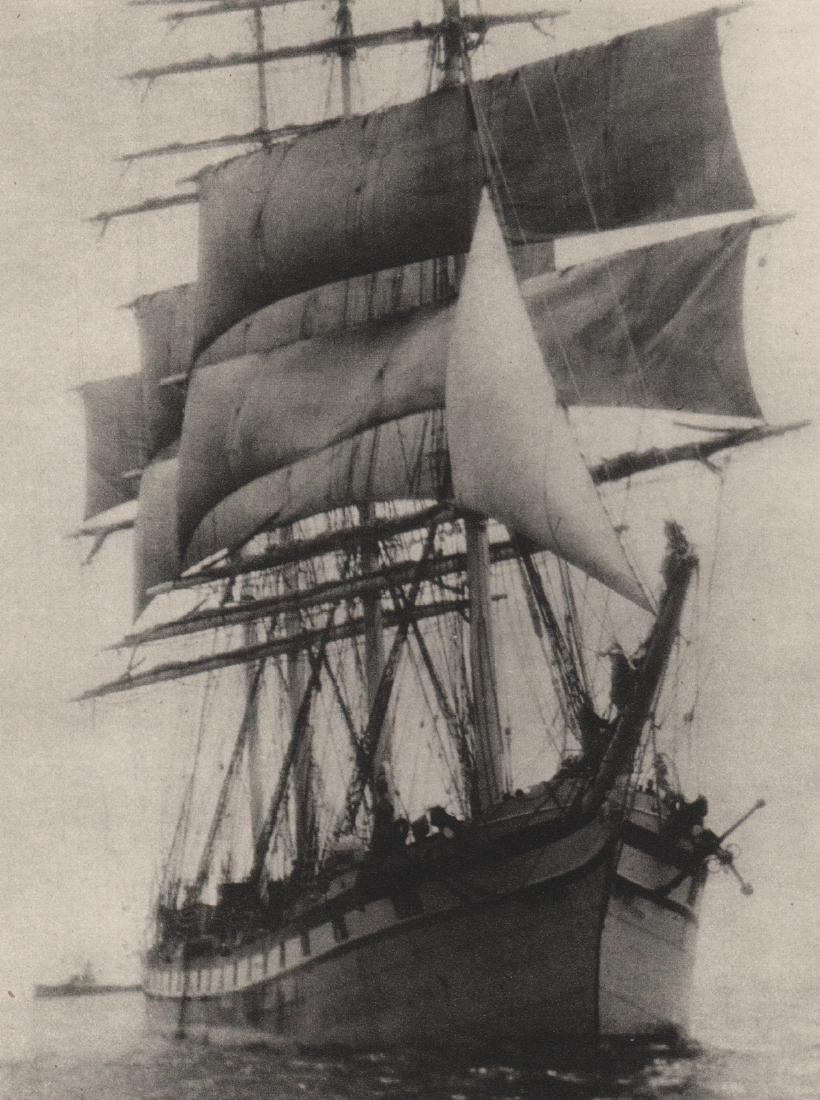 ALVIN LANGDON COBURN -  The Ship