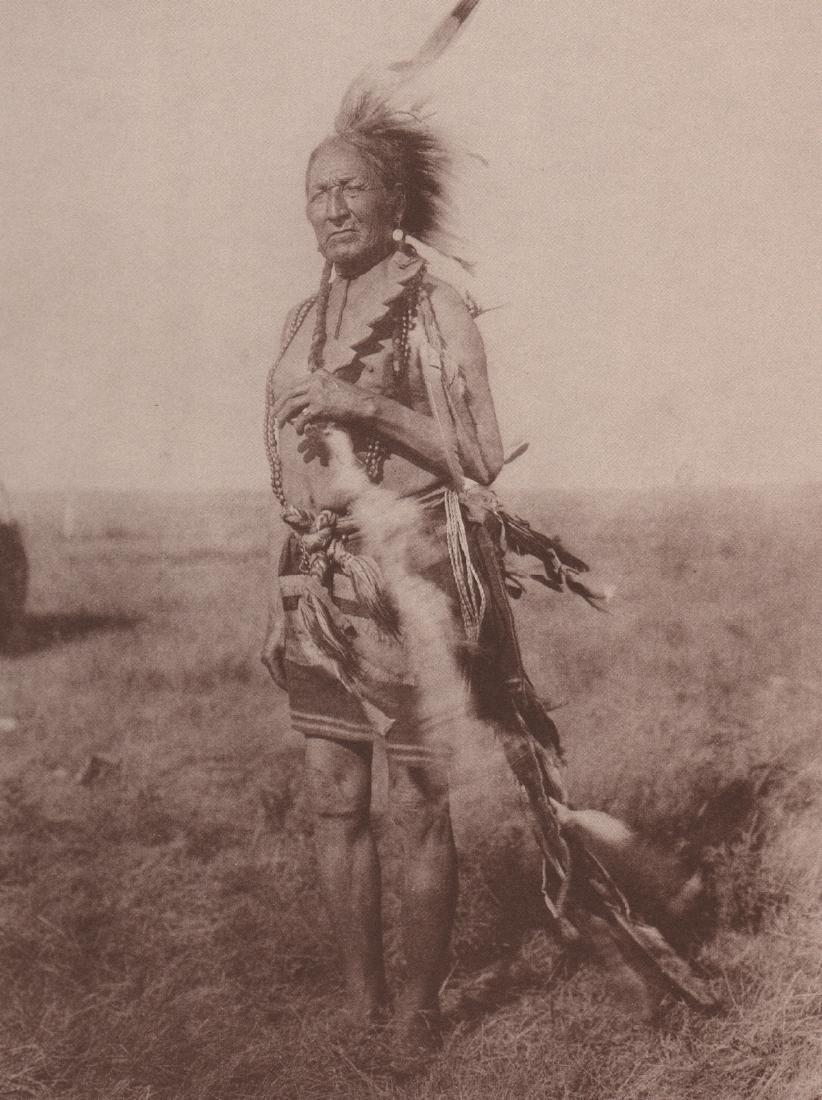 EDWARD CURTIS - Old Arapaho Warrior