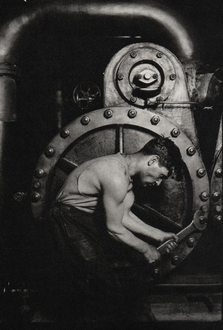 LEWIS W. HINE - Boiler Repair Man