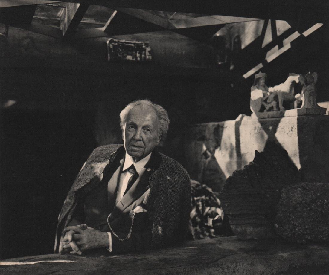 YOUSUF KARSH - Frank Lloyd Wright