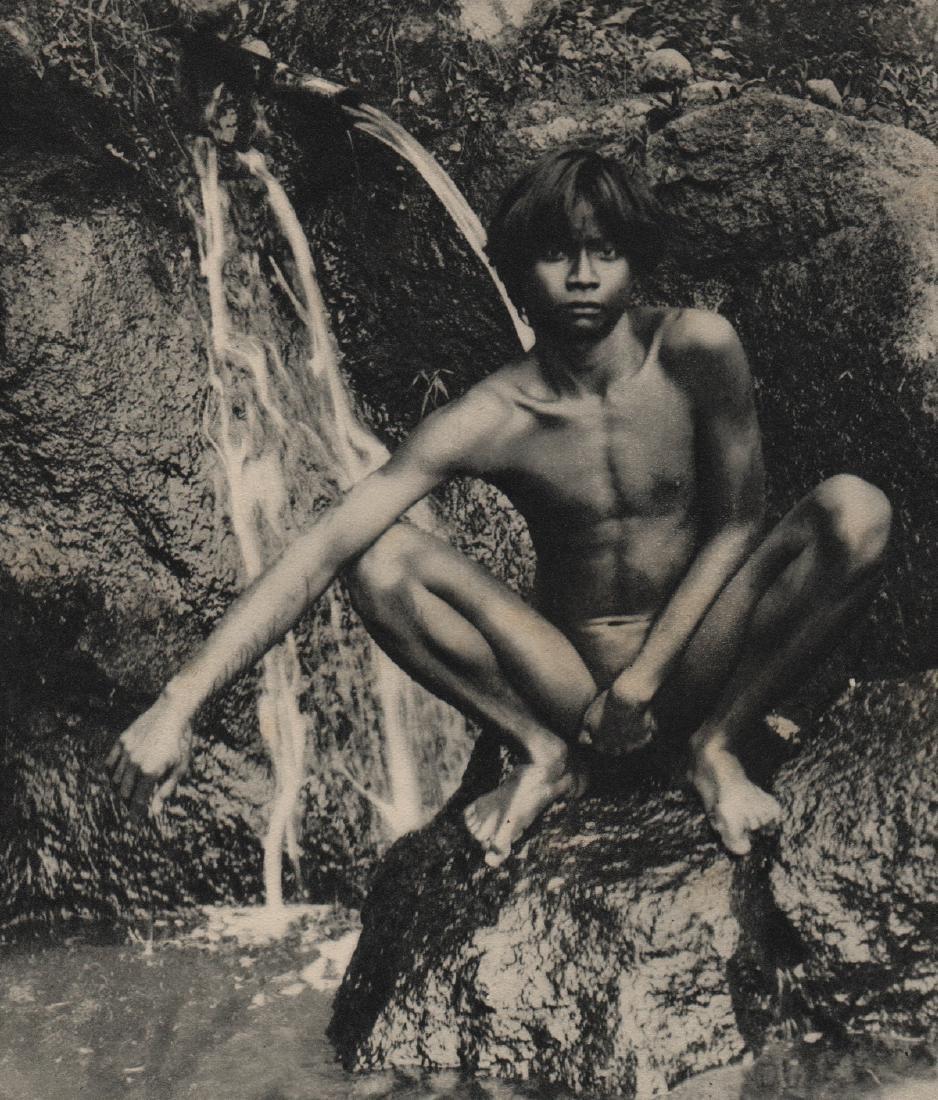 DR. GREGOR KRAUSE - Young Man Sunbathing