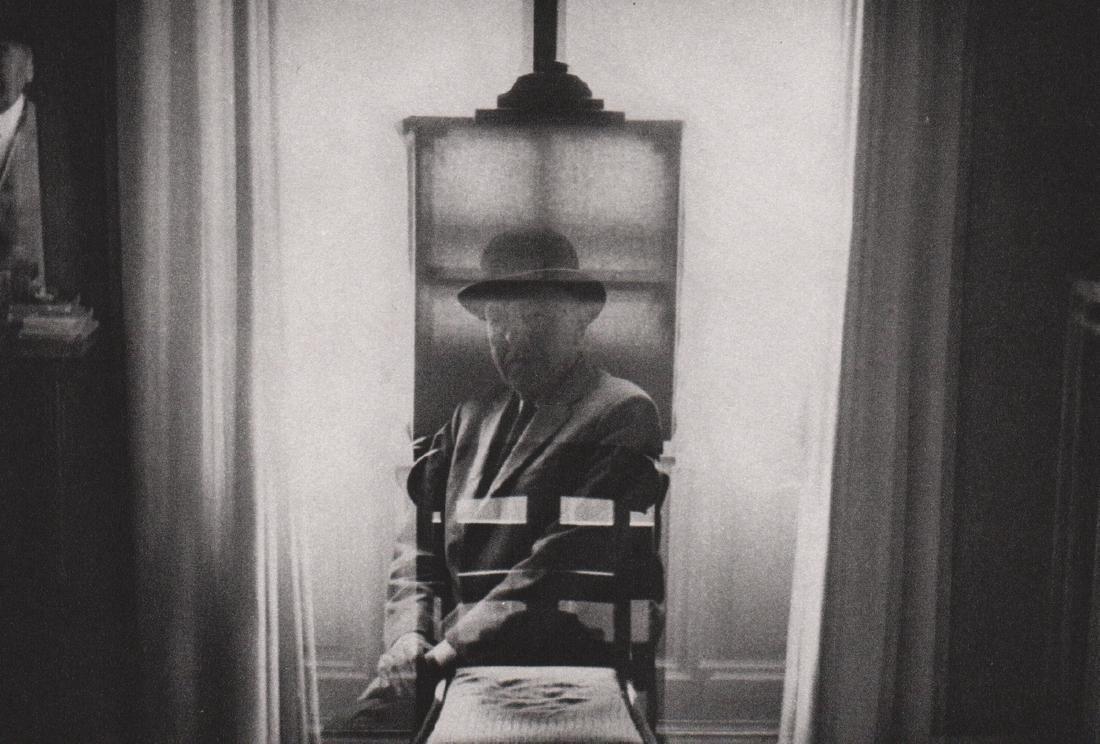 DUANE MICHALS - Rene Magritte, 1965