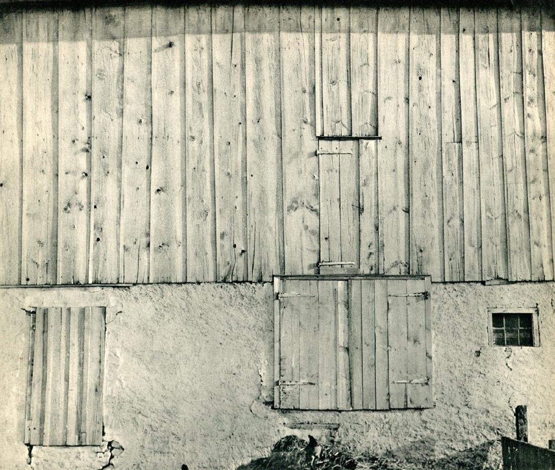 CHARLES SHEELER - Side of a Barn