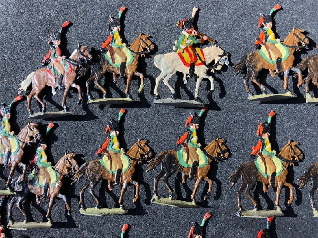 Heinrichsen Flat Tin Figures Napoleonic Chasseurs 30mm - 2