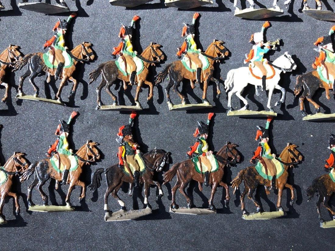 Heinrichsen Flat Tin Figures Napoleonic Chasseurs 30mm - 3