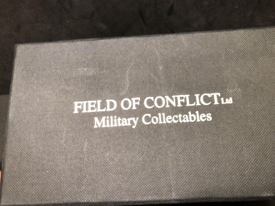 Field Of Conflict Iraqi Infantry With Box. Gulf War - 6