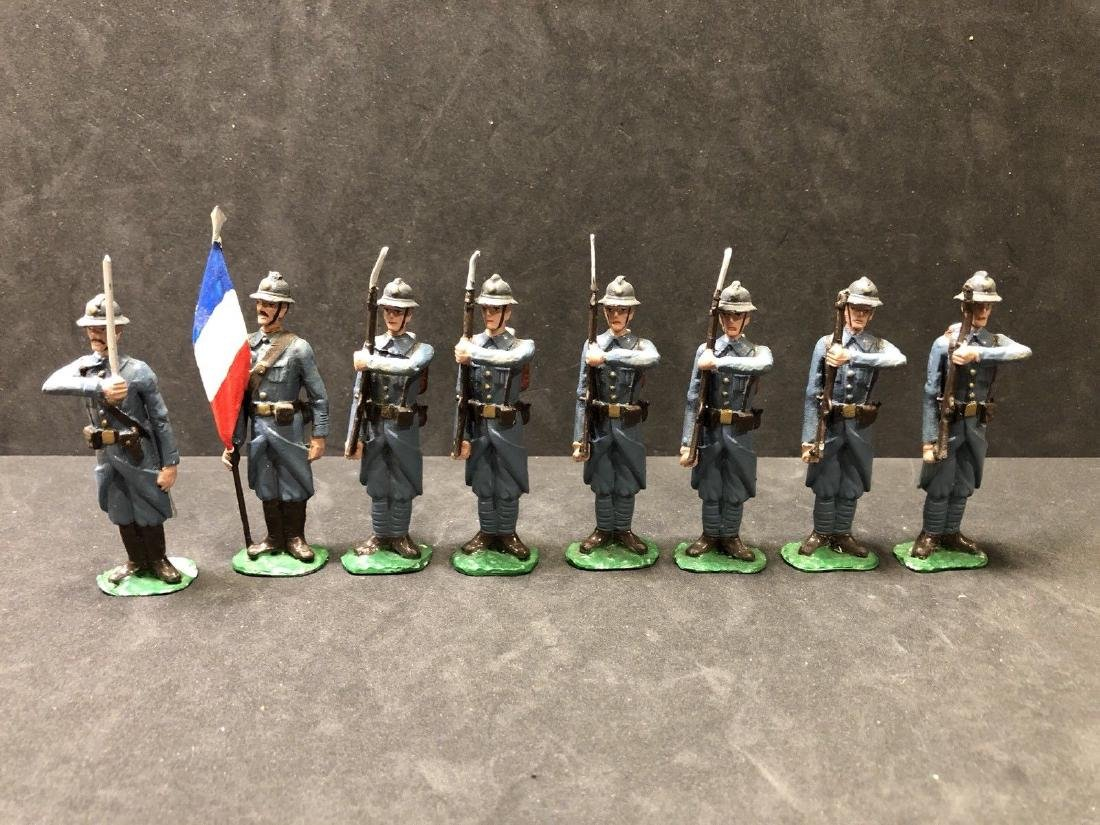 Unusual Large Scale French WW1 Infantry ~70mm Scale
