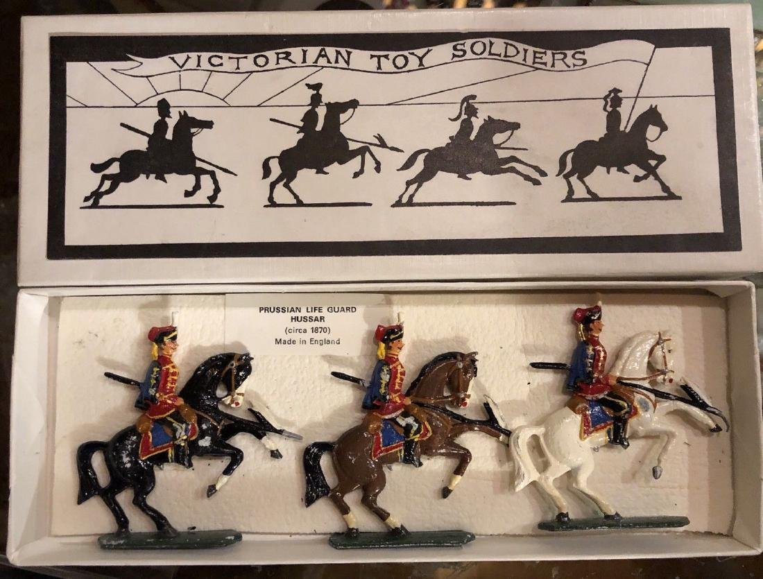 Victorian Soldier Co. Semi Round 40mm Prussian Hussars