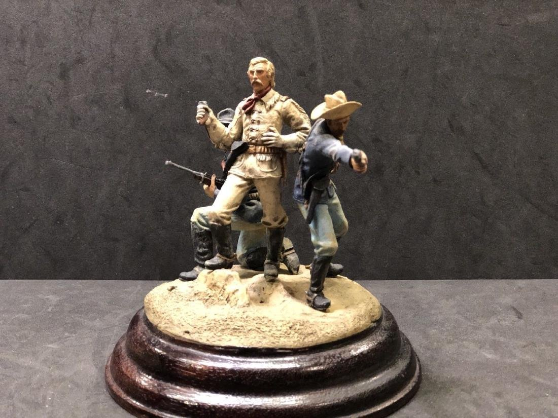Painted Barton Miniatures Custers Last Stand Vignette