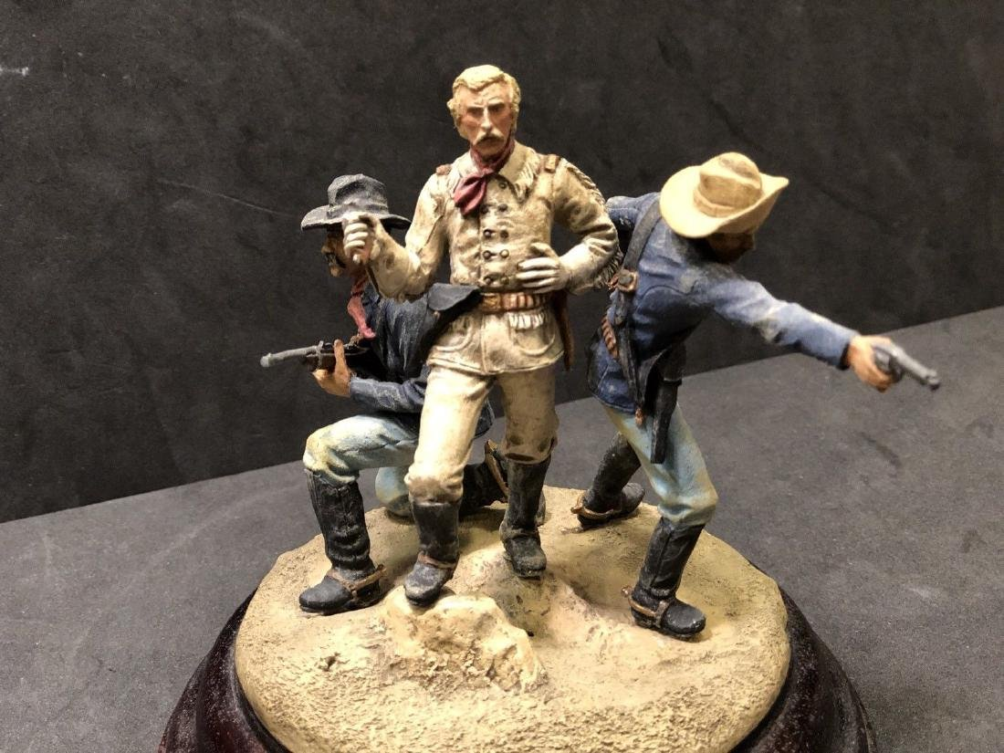 Painted Barton Miniatures Custers Last Stand Vignette - 2