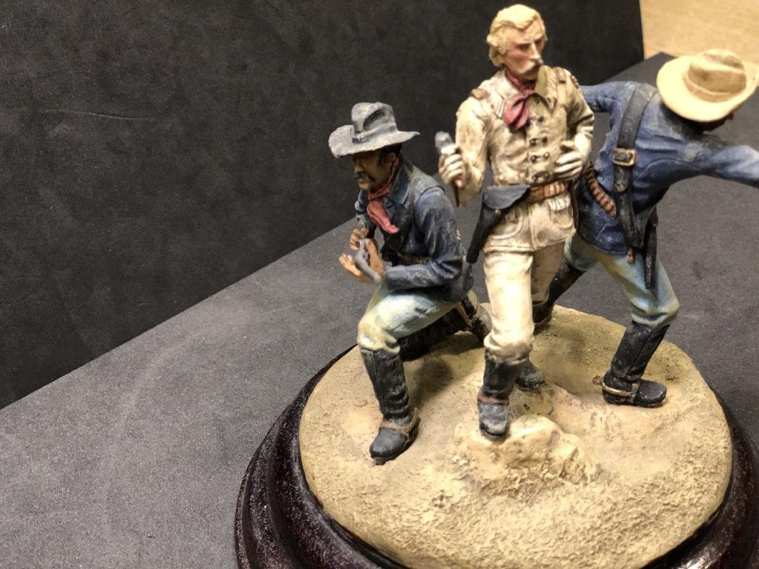 Painted Barton Miniatures Custers Last Stand Vignette - 3