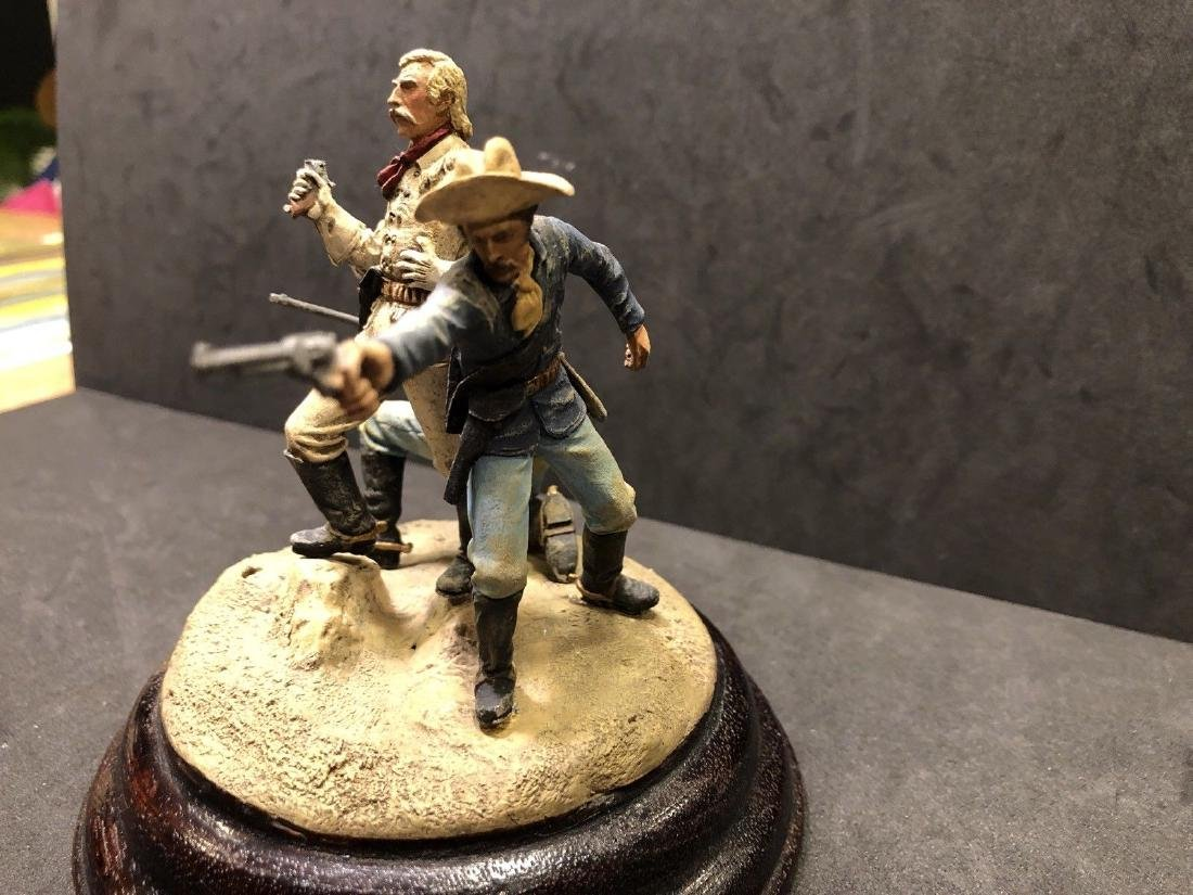 Painted Barton Miniatures Custers Last Stand Vignette - 5