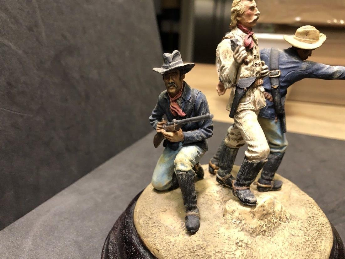 Painted Barton Miniatures Custers Last Stand Vignette - 6