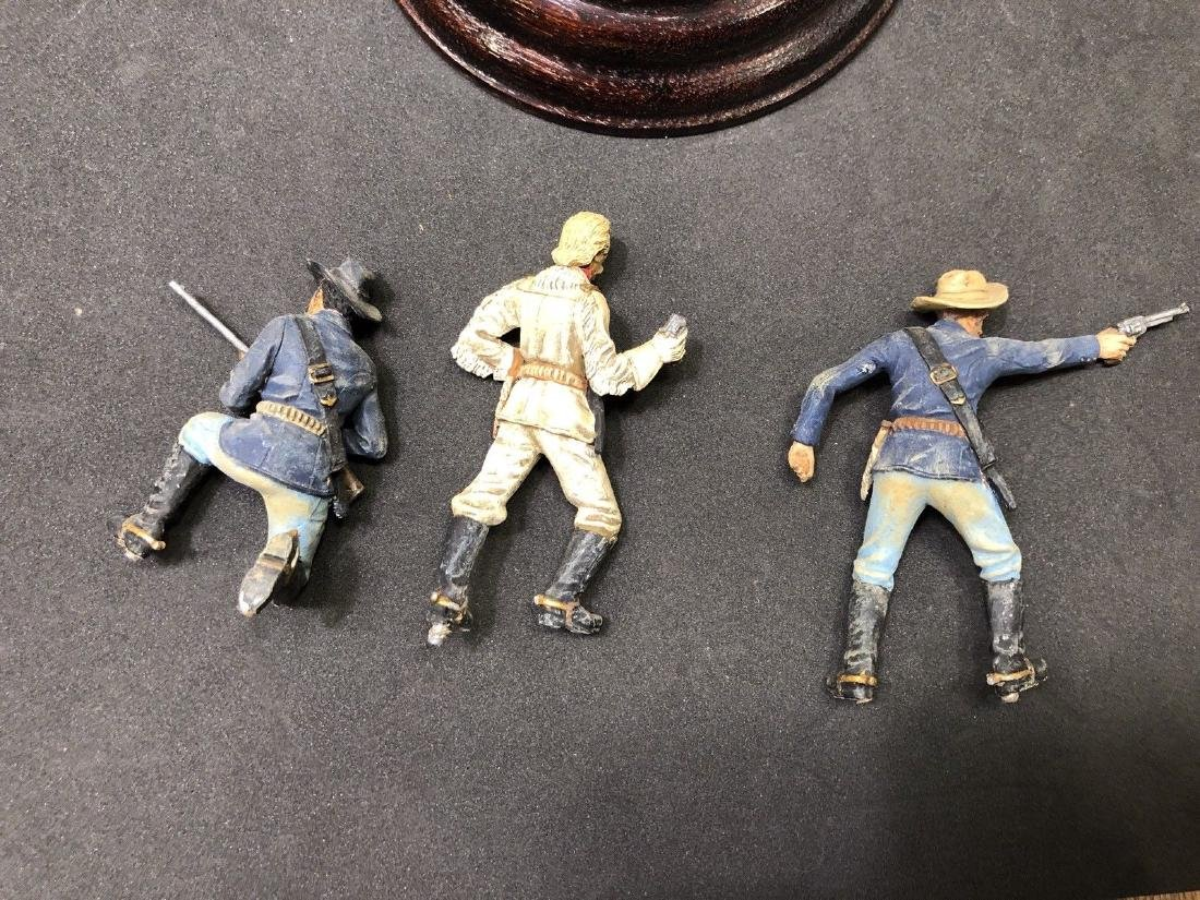 Painted Barton Miniatures Custers Last Stand Vignette - 9