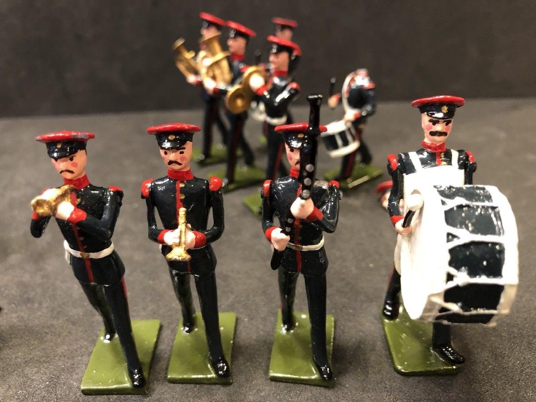 Recast & Repainted Britains Band In No. 1 Dress. - 10