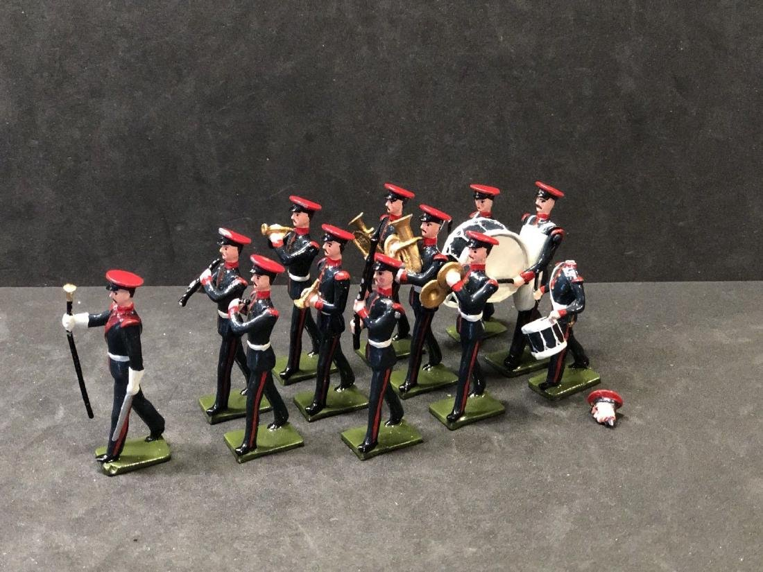 Recast & Repainted Britains Band In No. 1 Dress.