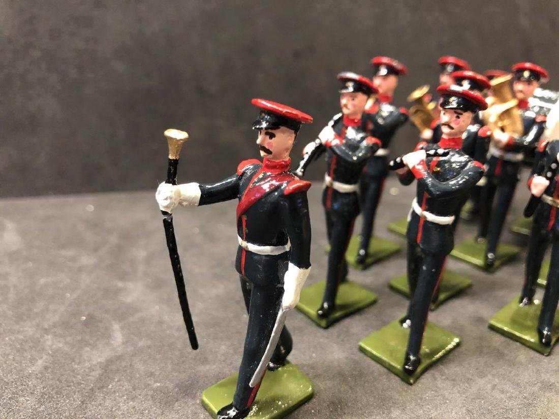 Recast & Repainted Britains Band In No. 1 Dress. - 2
