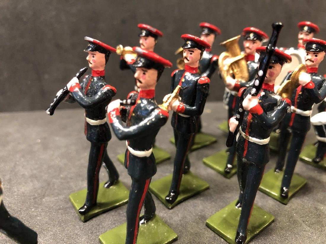 Recast & Repainted Britains Band In No. 1 Dress. - 3