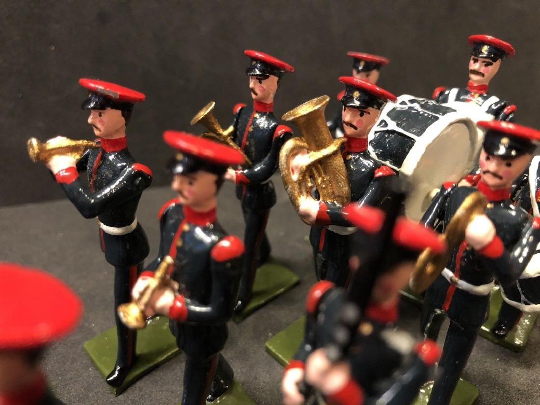 Recast & Repainted Britains Band In No. 1 Dress. - 4