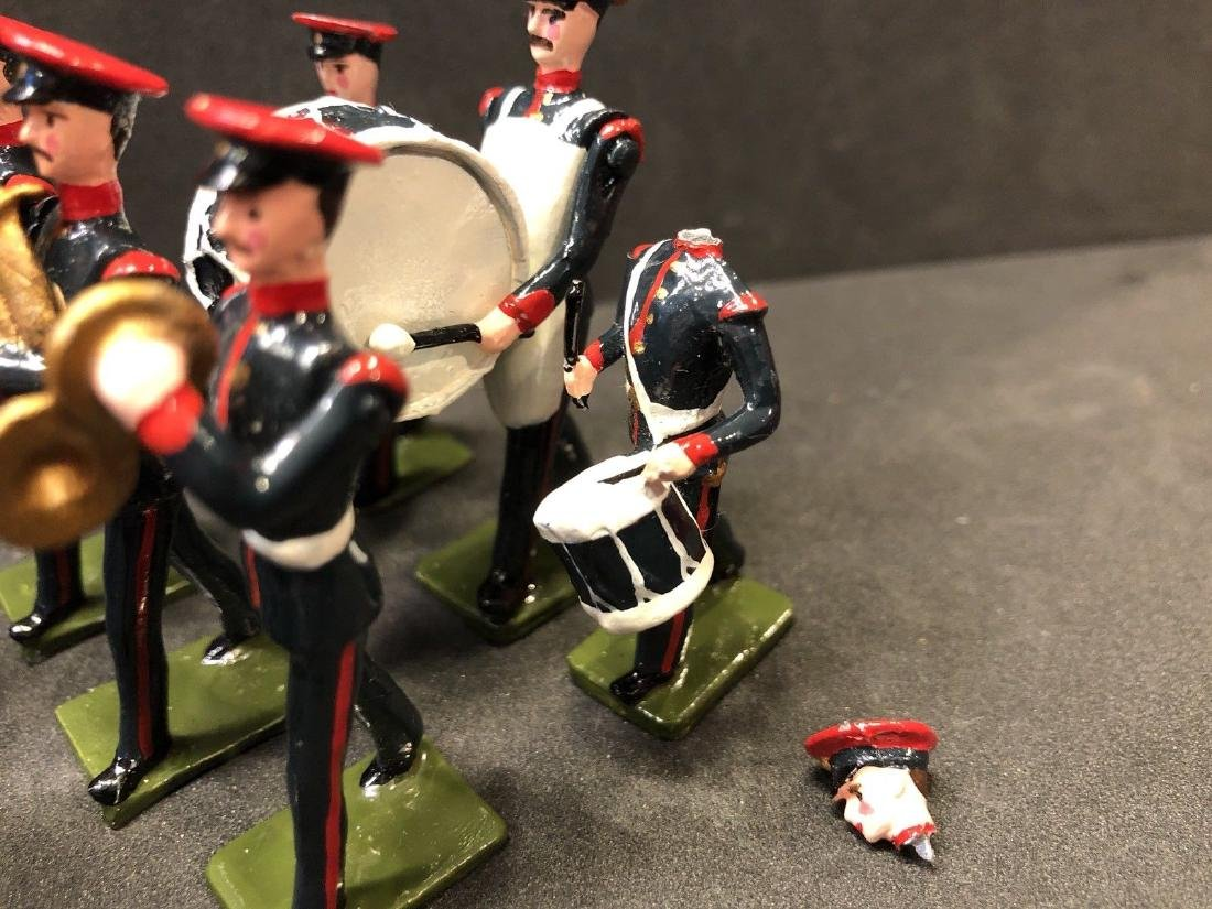 Recast & Repainted Britains Band In No. 1 Dress. - 5