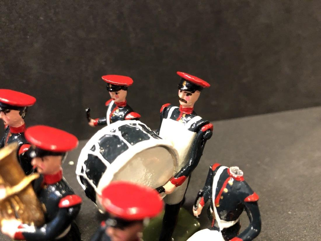 Recast & Repainted Britains Band In No. 1 Dress. - 6