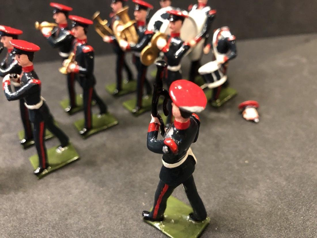 Recast & Repainted Britains Band In No. 1 Dress. - 7