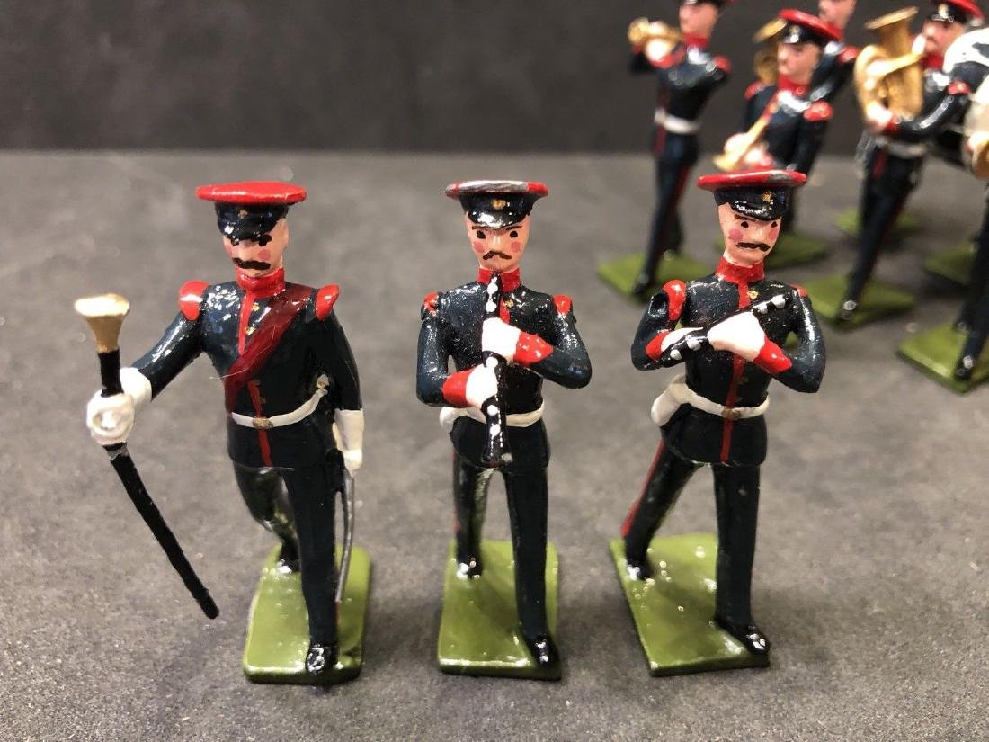 Recast & Repainted Britains Band In No. 1 Dress. - 8
