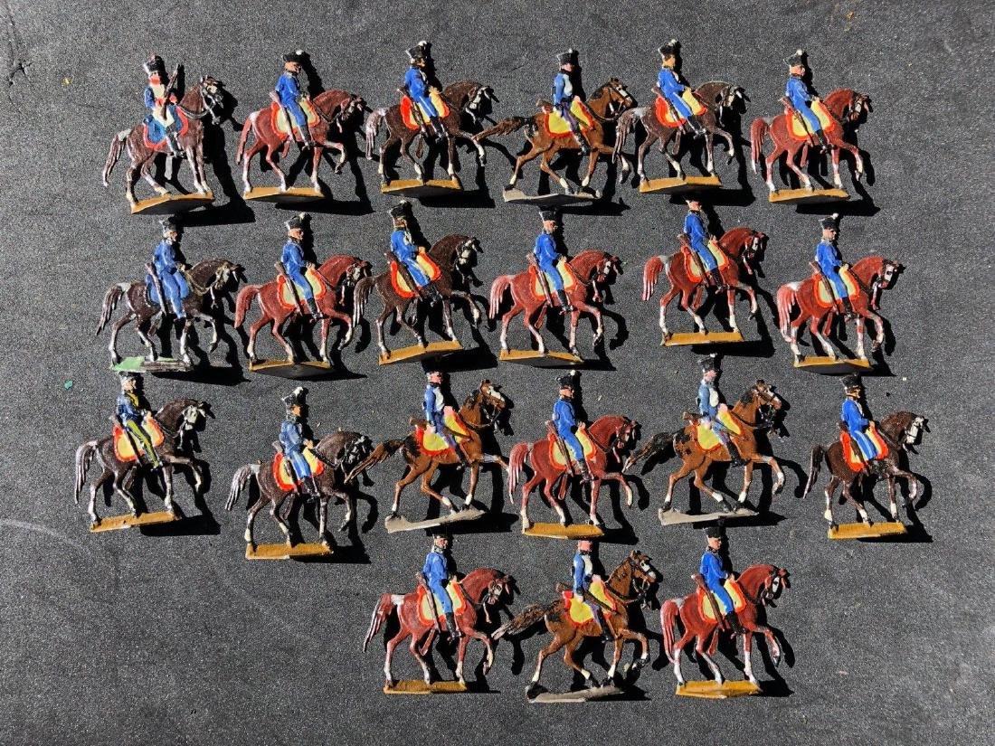 Heinrichsen Flat Tin Figures - Napoleonic Dragoons 30mm