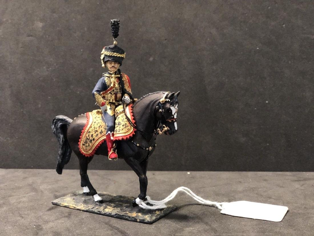 French Napoleonic Hussar By JG Rakov. 54mm Russian Made