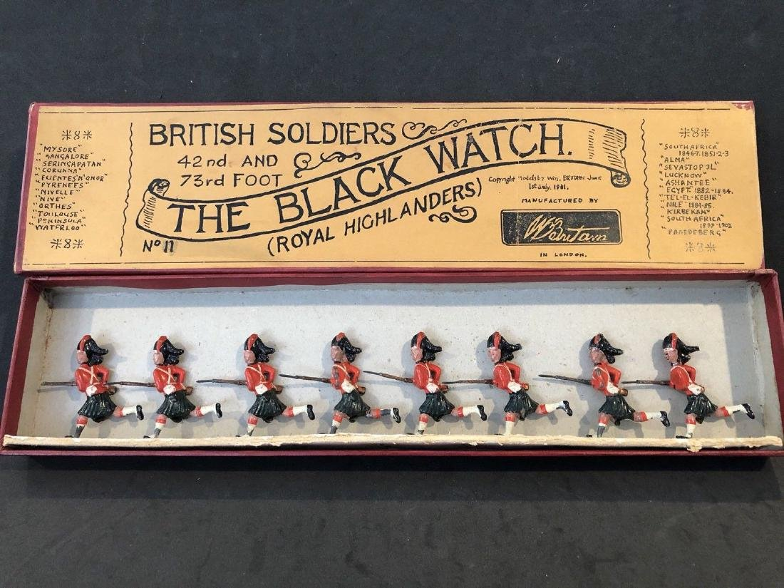 Britains RARE Early Set 11 Black Watch Early Issue Box