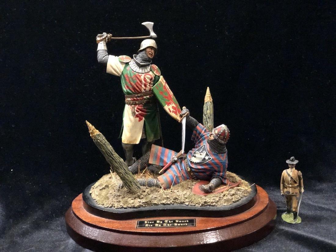Buonaparte Miniatures: Vignette - Medieval Combat 120mm