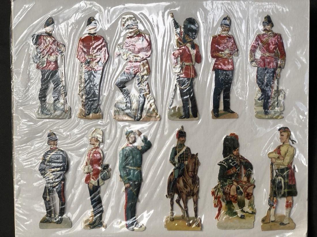 "Paper Soldiers: Victorian British ""Scraps"". Circa"