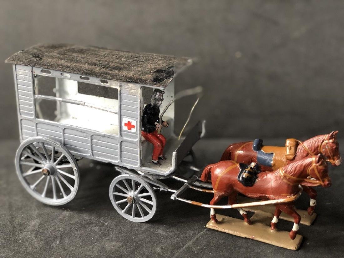 CBG Mignot Horse Drawn Ambulance With Driver