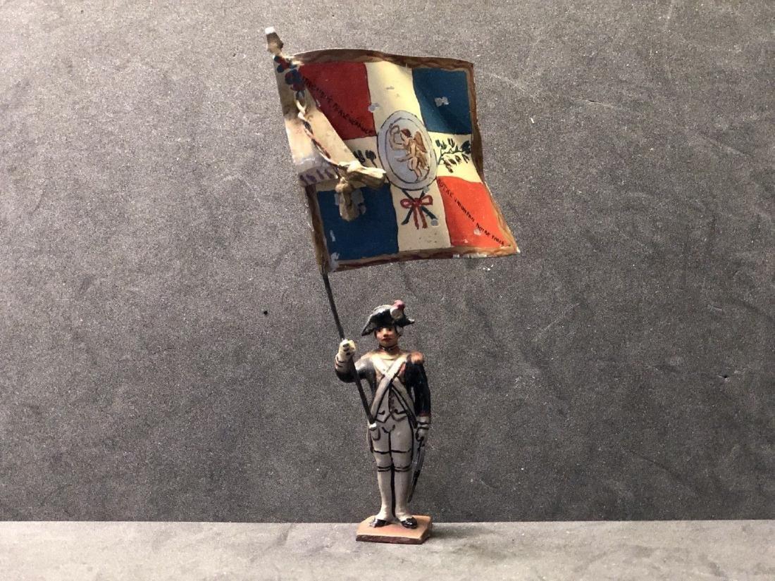 Fine Auger Flag Bearer. Circa 1940s Lot 12