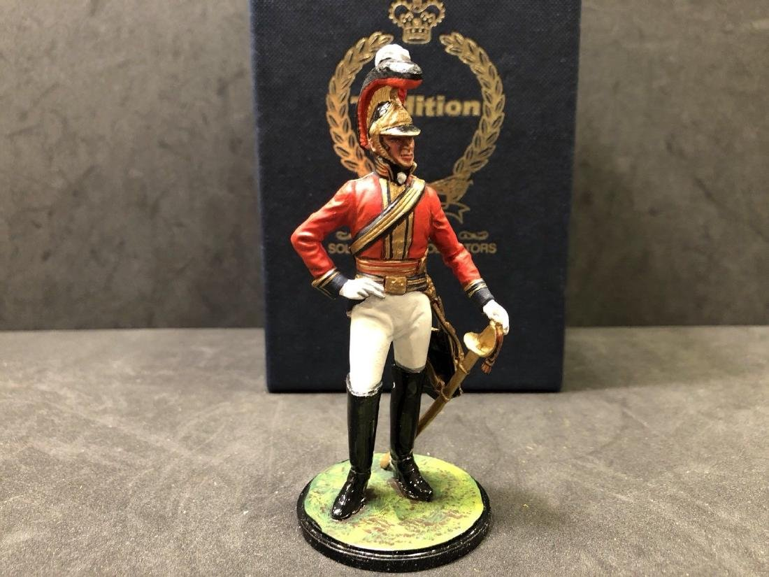 Tradition 90mm British Lifeguard 1815 Soldier Collector - 7