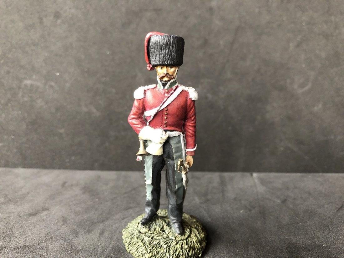 Professionally Painted 60mm Napoleonic Soldier. Metal