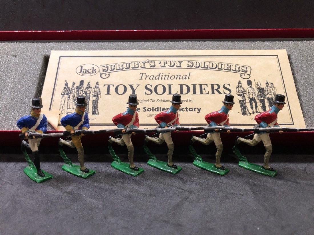 Scrubys Toy Soldiers. War Of 1812 Infantry With Box