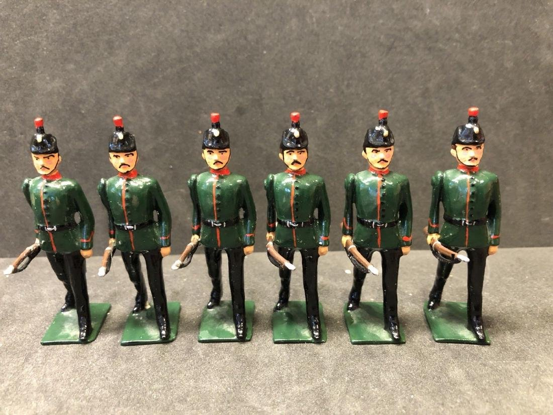 Recast & Repainted Britains Kings Royal Rifle Corps