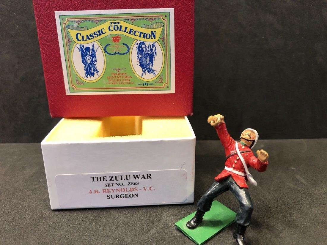 Trophy Miniatures The Zulu War Series Wounded Trumpeter