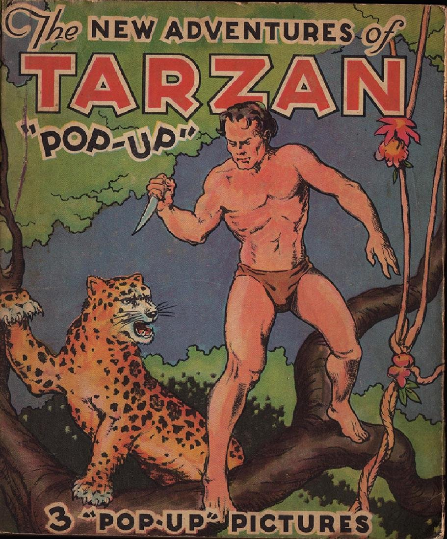 First Edition 1935 Tarzan Pop-up Book