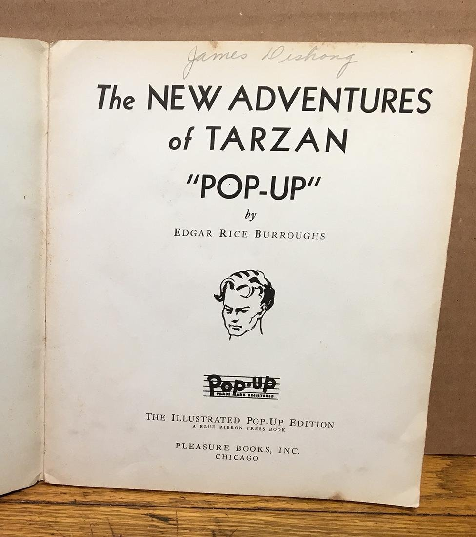 First Edition 1935 Tarzan Pop-up Book - 4