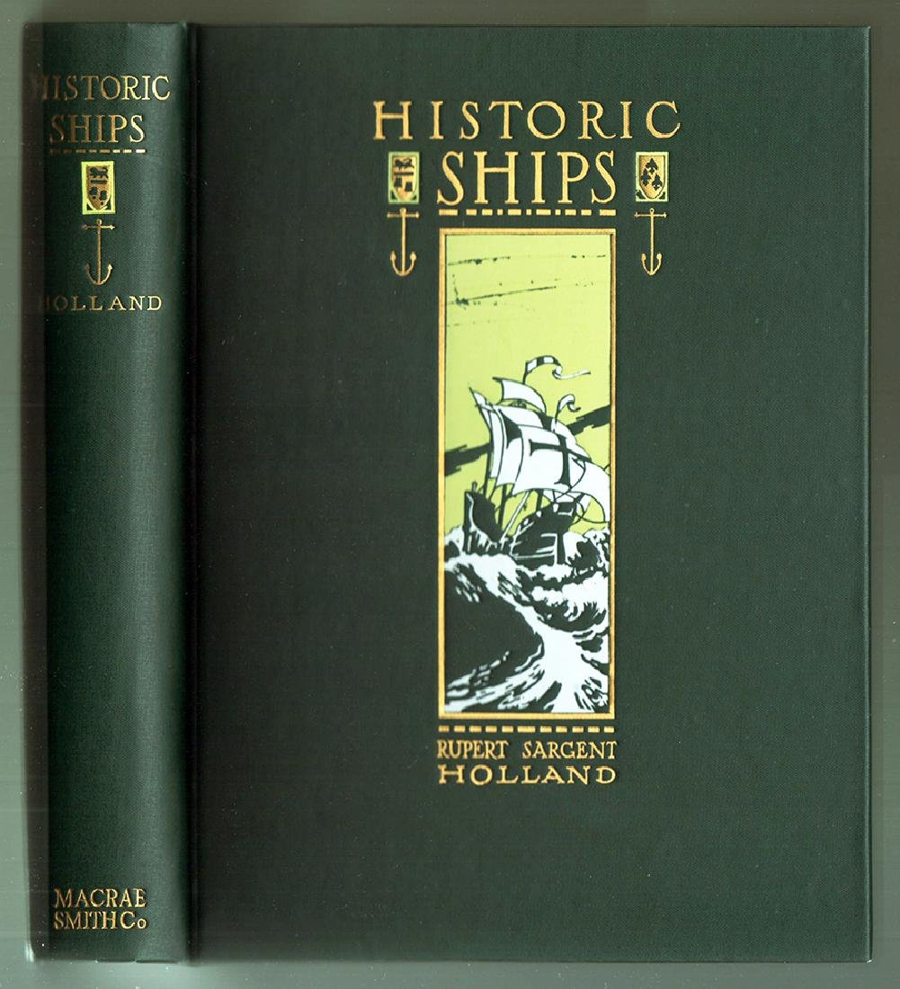 Historic Ships by Rupert Sargent Holland 3rd printing