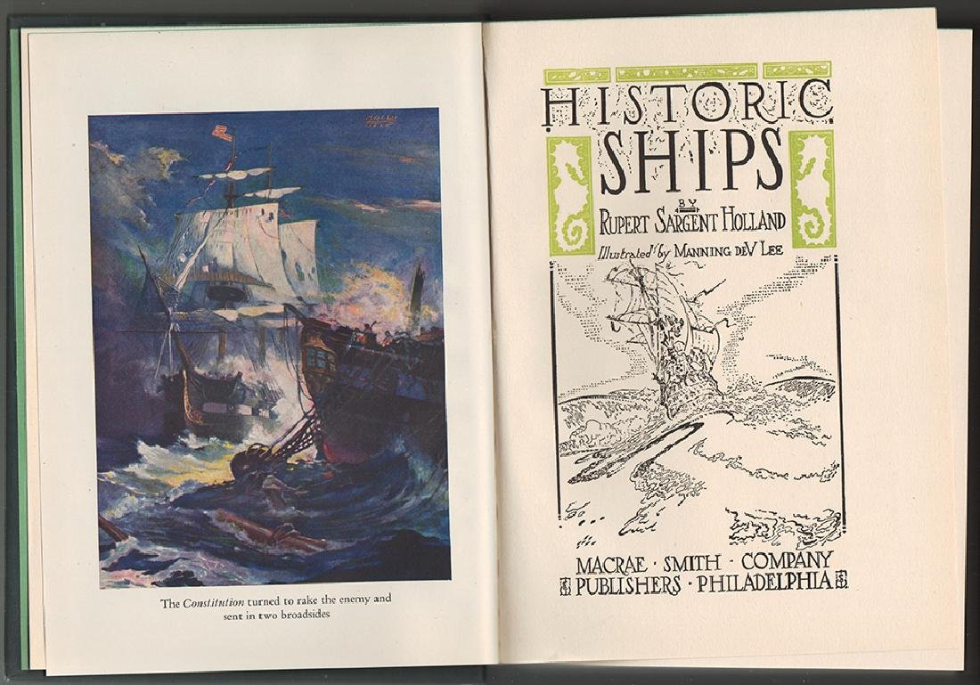 Historic Ships by Rupert Sargent Holland 3rd printing - 2