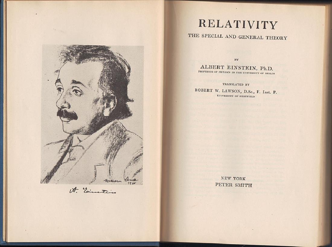 Relativity the Special & General Theory Albert Einstein - 3