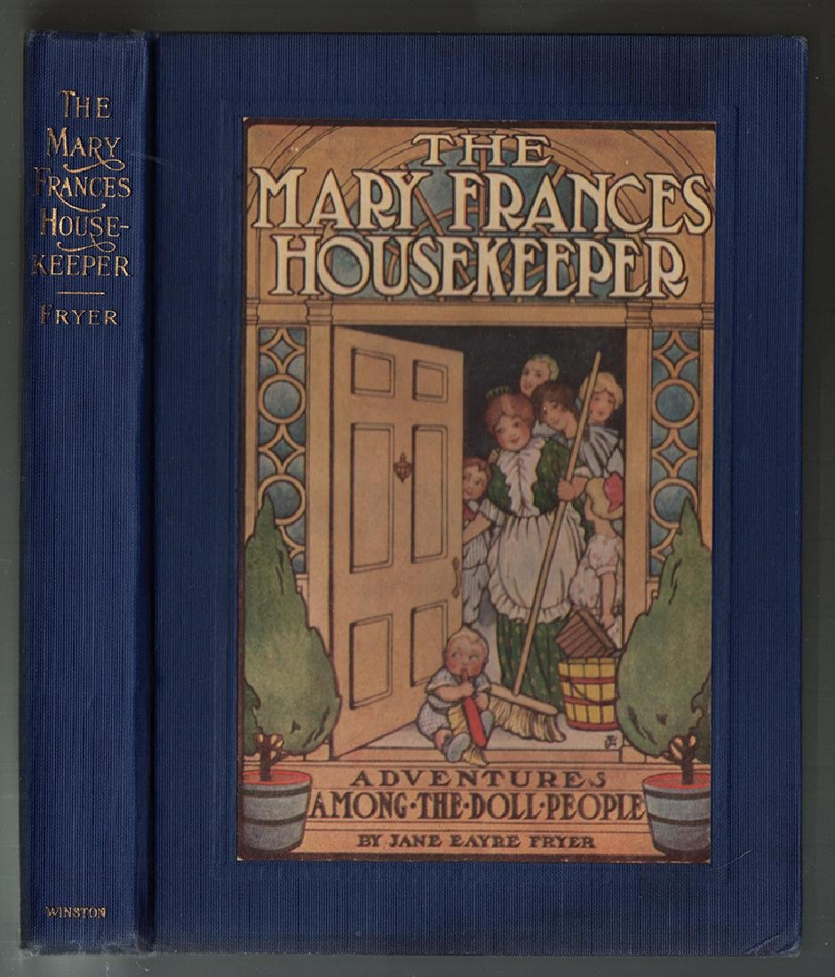 First Edition Mary Frances Housekeeper & Dust Jacket