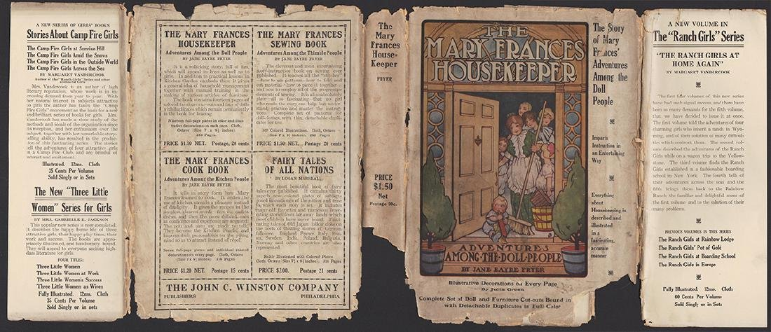 First Edition Mary Frances Housekeeper & Dust Jacket - 2