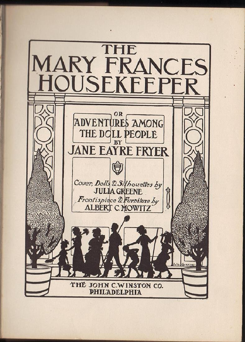 First Edition Mary Frances Housekeeper & Dust Jacket - 3