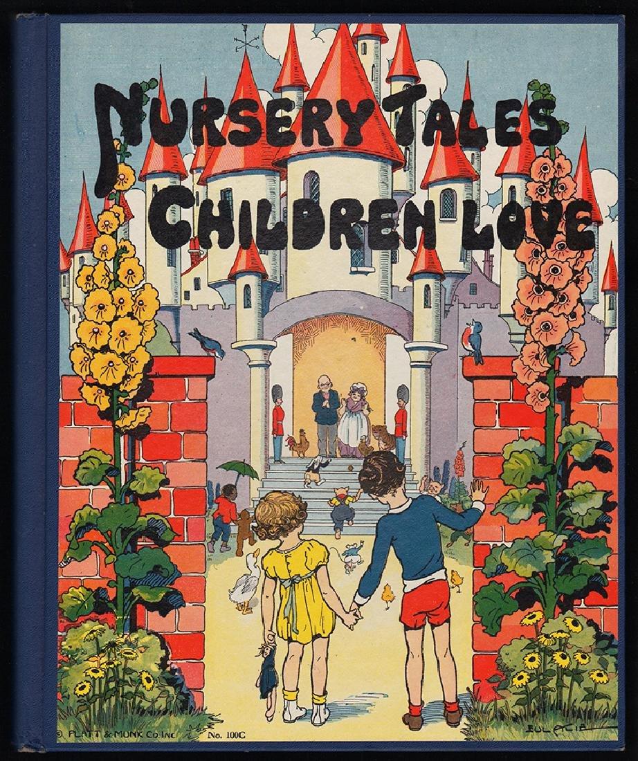 1933 Watty Piper/Eulalie's Nursery Tales Children Love